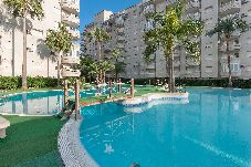Apartment with swimming pool in Gandía