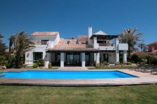Villa on the first line to the beach in Marbella