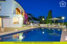 Villa with swimming pool in Moraira