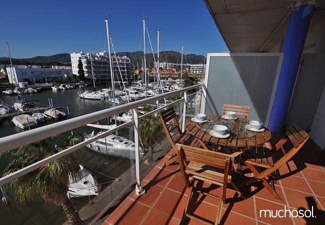 Apartment with swimming pool in Santa Margarita area, Rosas / Roses - Ref. 86767-1