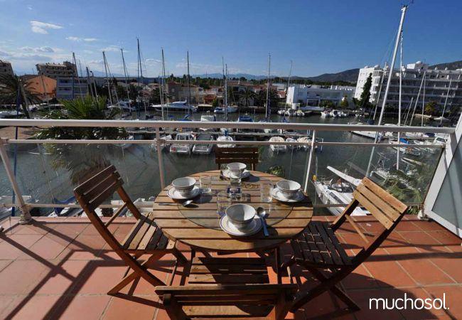 Apartment with swimming pool in Santa Margarita area, Rosas / Roses - Ref. 86767-9