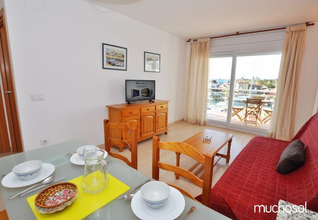 Apartment with swimming pool in Santa Margarita area, Rosas / Roses - Ref. 86767-7