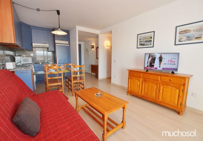 Apartment with swimming pool in Santa Margarita area, Rosas / Roses - Ref. 86767-4