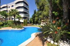 Beach front apartment in Salou